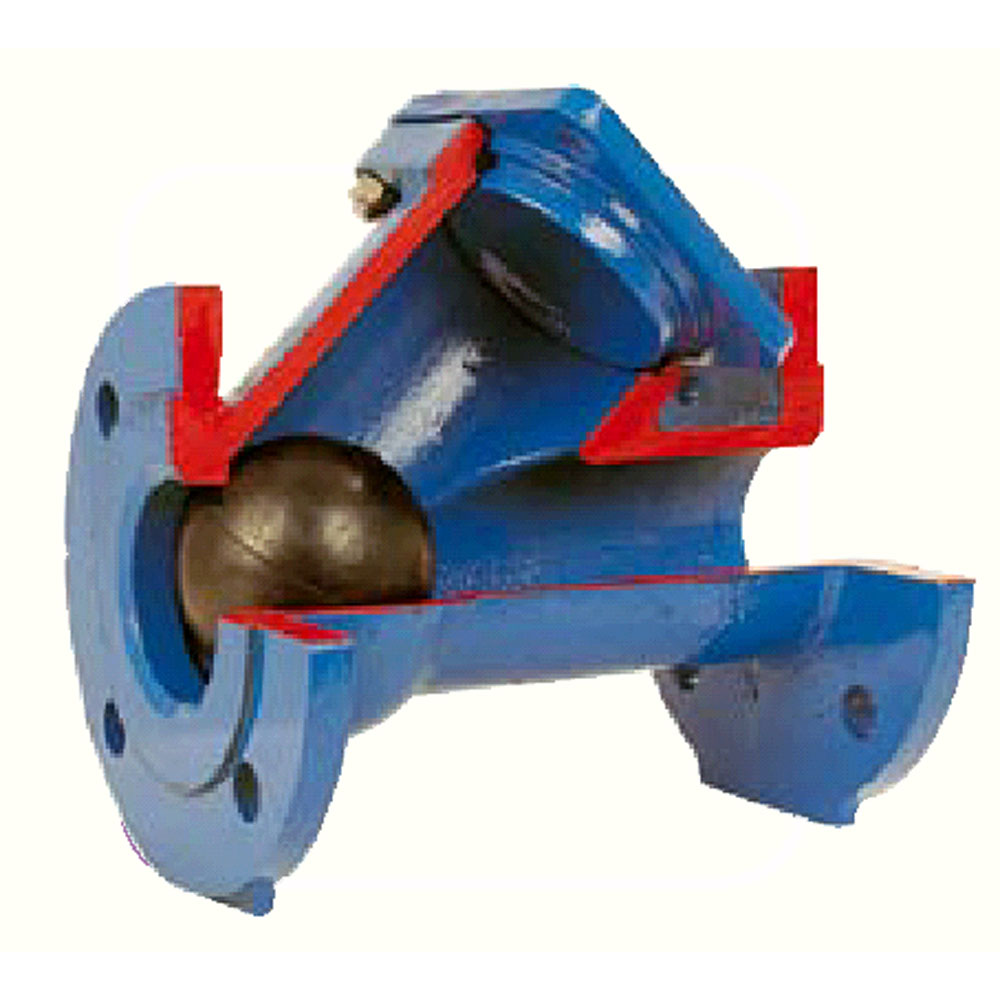 V lvula de retenci n bola para aguas residuales for Valvula de empotrar para regadera